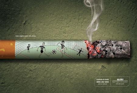 Социальная реклама воздействует на здоровых людей